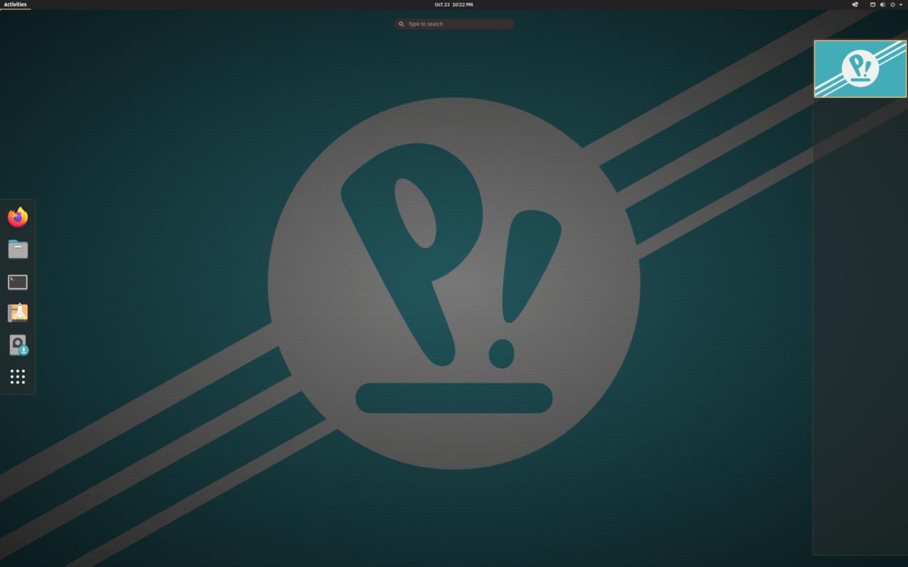 توزيعة بوب!_أو أس بواجهة GNOME