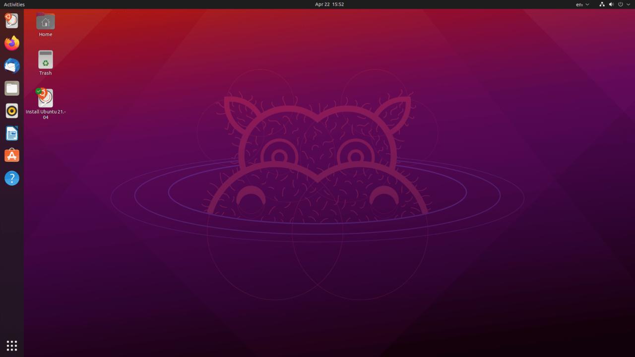 توزيعة أوبنتو بواجهة GNOME