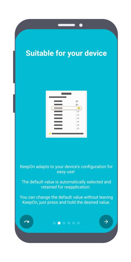 دليل الميزات في KeepOn -صفحة 2-