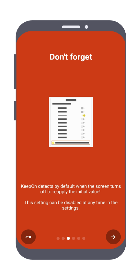 دليل الميزات في KeepOn -صفحة 3-